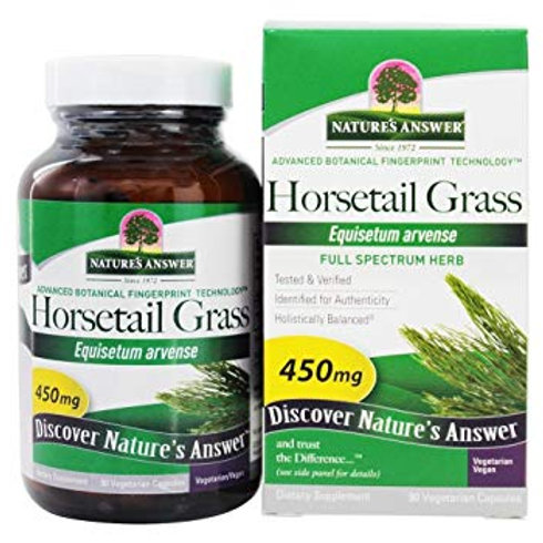 Nature's Answer, Horsetail Grass, 450 mg, 90 VCaps