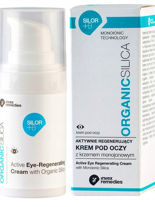 Invex Remedies Organic Silica Regenerating Eye Cream 15ml