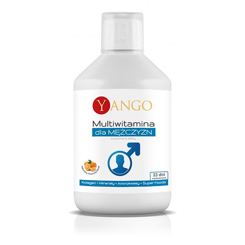 Yango Natural Multivitamin for men - 500 ml