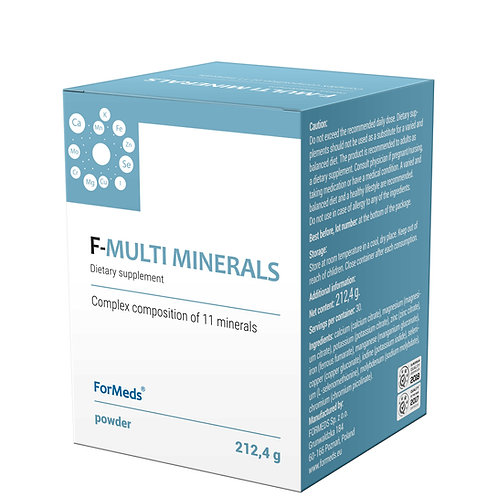 Formeds Pure F- Multi Minerals 30 portions