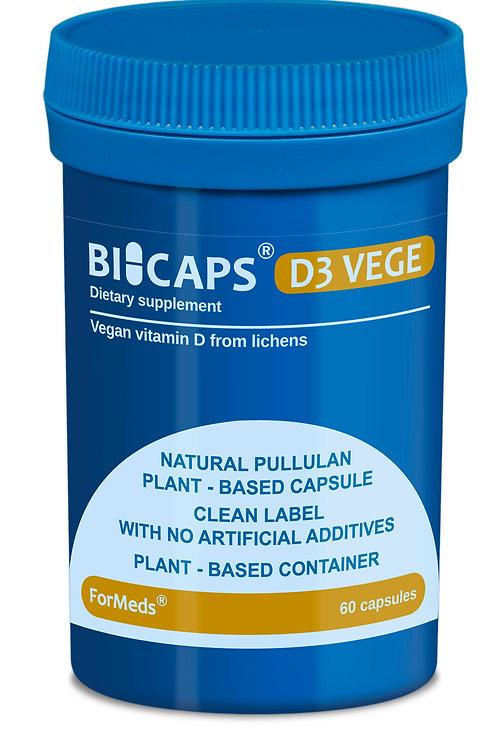ForMeds BICAPS® D3 Vege 2000IU - 60 Caps