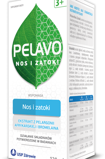 Pelavo  Syrup Nose & Sinuses 3+ 120ml