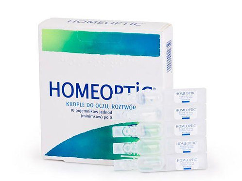 Boiron - Homeoptic (Optique 1)  Eye Irritation Relief, 10 Doses