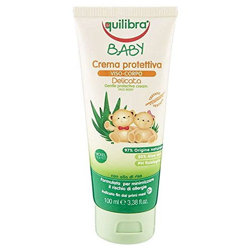 Equilibra Gentle protective face and body cream for children 0m + 100ml