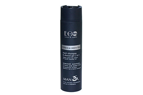 EO Laboratorie Man 2in1 gel for body and hair Cypress and Green Tea 250 ml