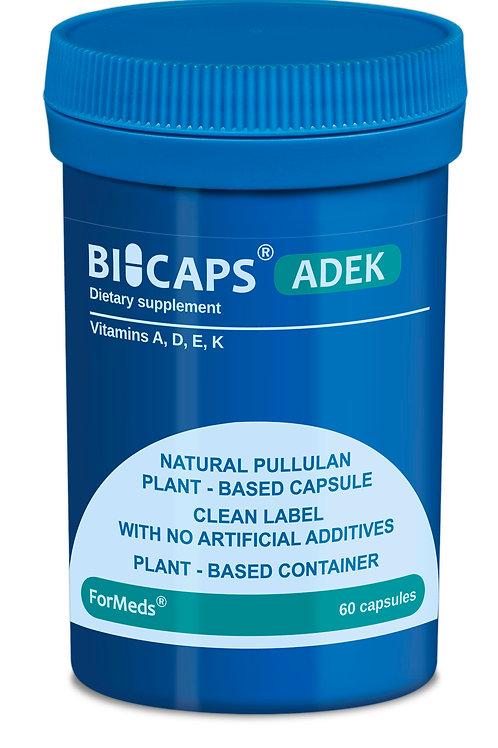 ForMeds BICAPS® Natural Pure Vitamins A, D3, E, K2MK7 60 VCaps