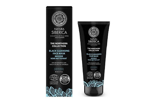 Natura Siberica Black Cleansing Face Mask Refines & brightens the complexion