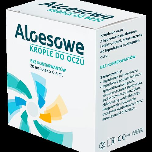 Solinea - Avizor Aloe Vera Eye Drops 20 Vials X 0.4ml