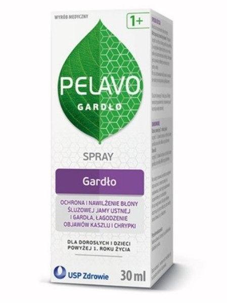 USP Pelavo Throat Spray 30ml