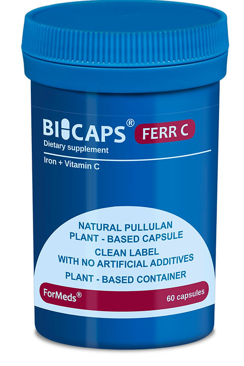 ForMeds BICAPS® Natural Ferr C 60 Caps