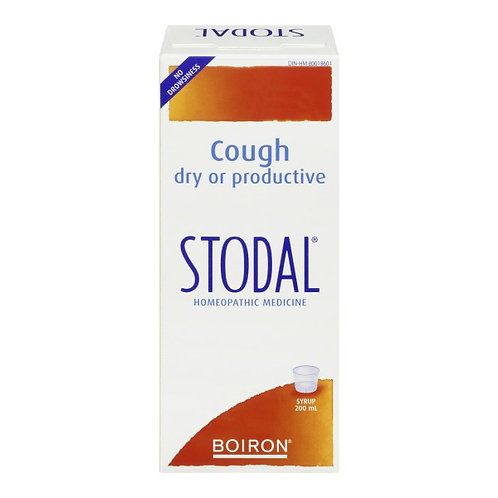 Boiron Stodal Syrup 200ml - damaged box only