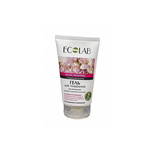Ecolab Facial washing gel - Moisturizing for dry and sensitive skin 150 ml
