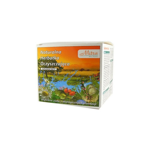 Mitra Natural Herbal Detox & Cleansing tea 30x2g