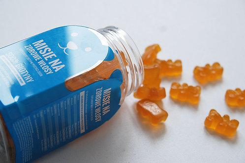 Noble Health Heathy Hair Supplement Bears 60 Gummies