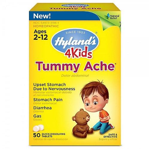 Hyland's 4Kids, Tummy Ache, 50 Tablets
