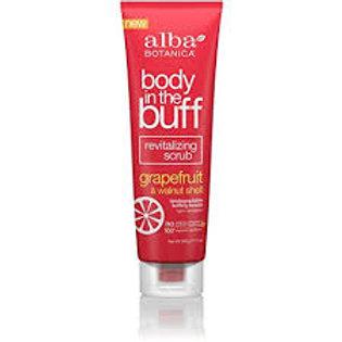 ALBA BOTANICA - Body In The Buff Scrub Grapefruit & Walnut Shell 256ml