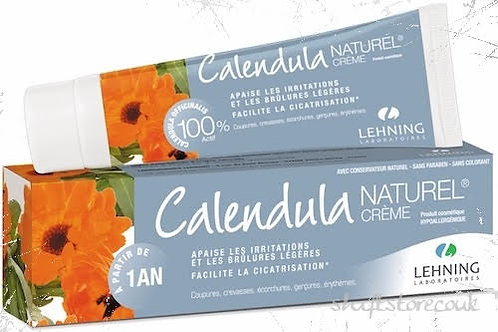 Lehning Calendula Natural Cream 50g - for wounds,inflammation skin healing