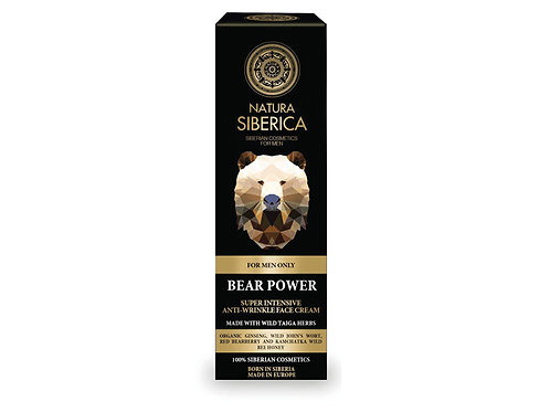 MEN Bear Power – Super Intensive Anti-Wrinkle Face Cream 50ml