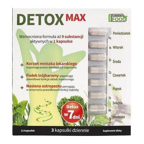 Noble Health Detox Max 21 Caps