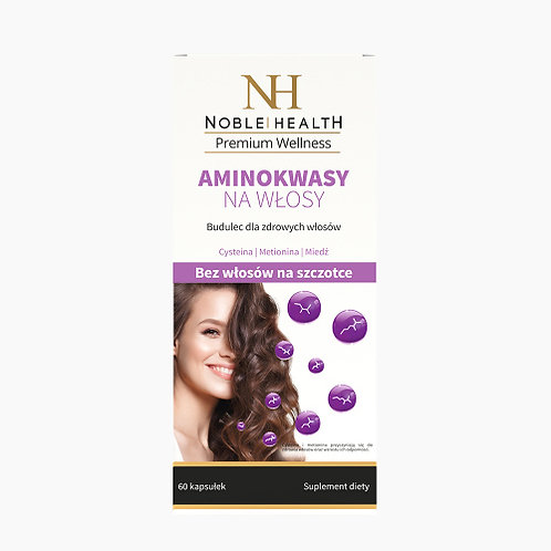 Noble Helath Amino acids for hair 60 caps