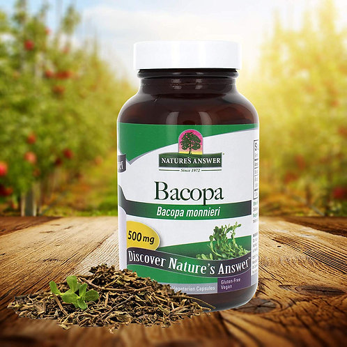 Nature's Answer Bacopa - 90 caps