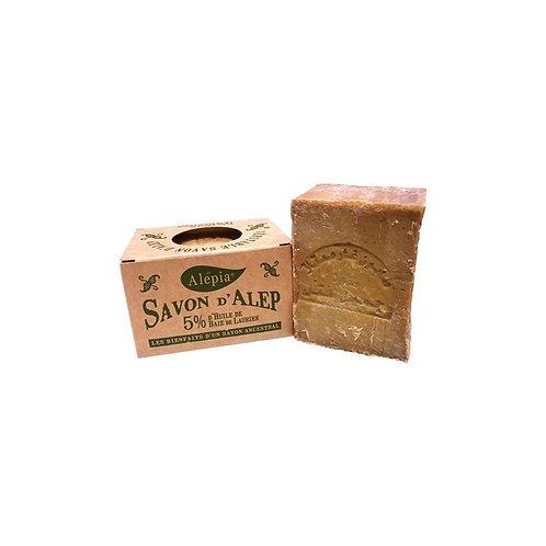 Alepia Savon D'Alep | Aleppo Soap 5% Laurel 190G