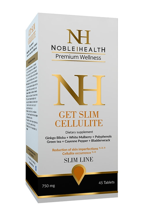 Noble Health GET SLIM CELLULITE 45 Tabs