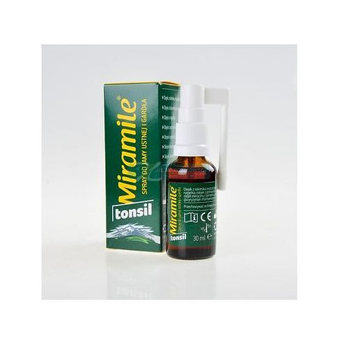 Miramile Natural Throat & Tonsil spray 30 ml