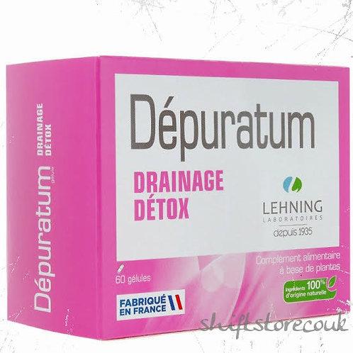 Lehning Depuratum for Detox 60caps