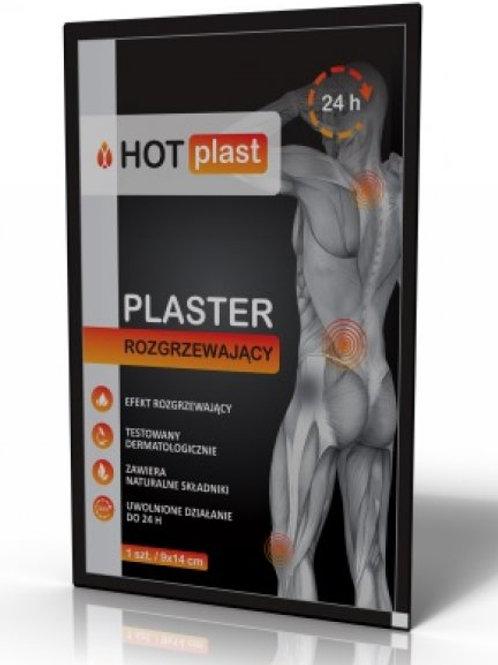 Paso Trading Hot Plast - Warming Plaster 9x14cm - 1pc