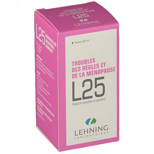 Lehning L25 –  relief for period and menopause 30ml