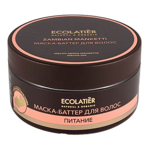 EO Laboratorie ECOLATIER Zambian Manketti Hair Mask - Butter 200ml