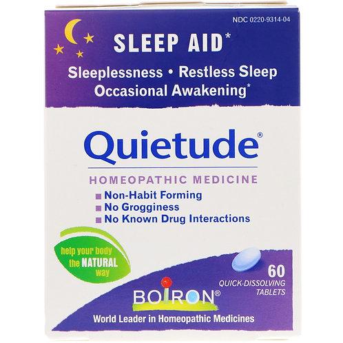 Boiron Quietude® Sleep Aid -- 60 Quick Dissolving Tablets