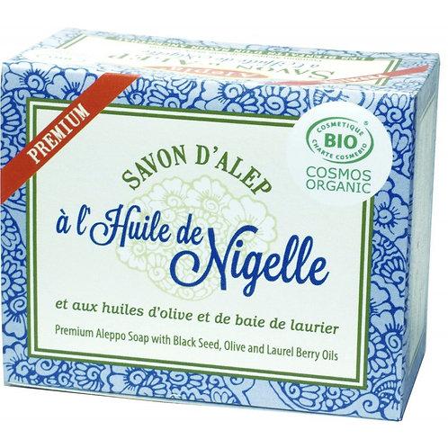 Alepia Savon D'Alep | Apremium Aleppo Soap Nigella, laurel & Olive oil 125g