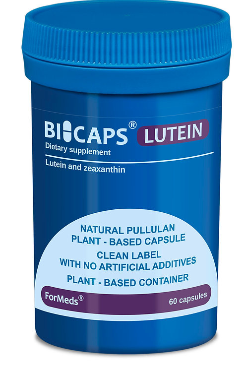 ForMeds BICAPS® Natural Lutein & Zeaxanthin 60caps