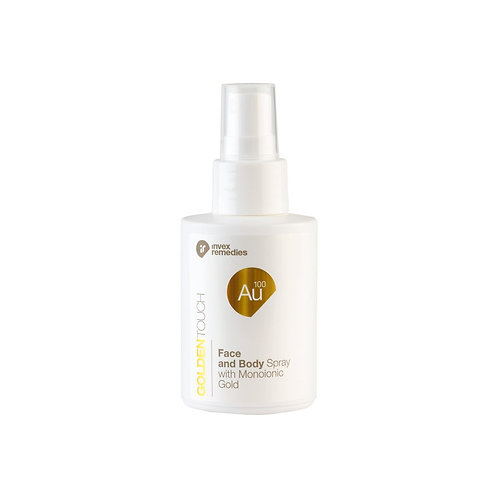 Invex Remedies AU100 Golden Touch Body Face mist