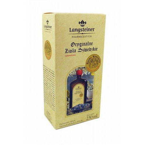 Langsteiner Bitter Swedish Herbs (Monastery Pharmacy) 250ml