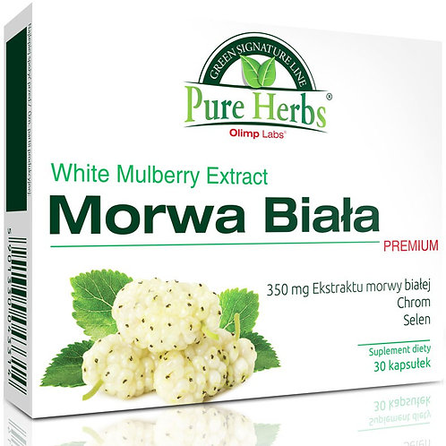 Olimp Pure Herbs White Mulberry Extract 30 Caps