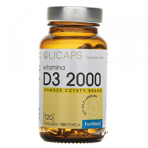 ForMeds OLICAPS D3 2000IU - 120 CAPS