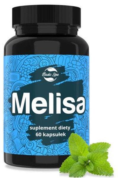 Noble Health Melisa Lemon Balm 500mg 60 Caps