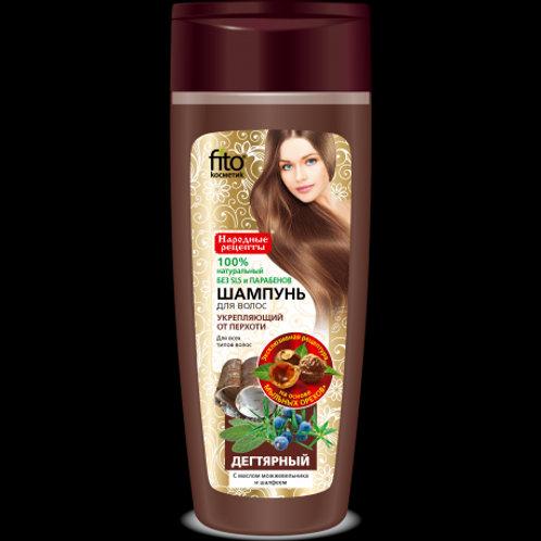 Fitokosmetik Shampoo with birch tar extract 270 ml
