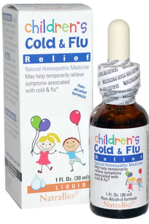 NatraBio Children's Cold & Flu Relief 30 ml
