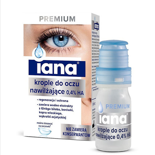 Iana - Moisturizing Eye Drops 10ml