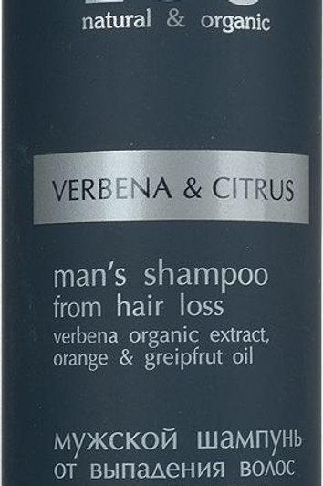 EO Laboratorie Organic Man's Shampoo for Hair Loss Verbena & Citrus 250ml