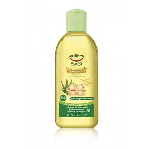 EQUILIBRA Natural baby care oil for children 0m+ 200ml