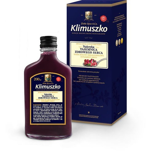 Herb's of father Klimuszko. Non Alcoholic tincture 200ml Heart Function