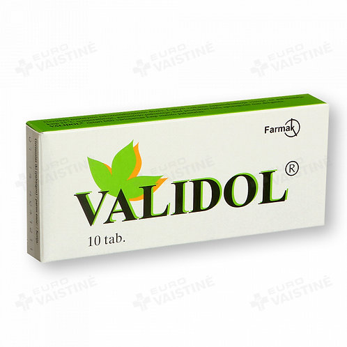 Validol - 10 calming lozenges