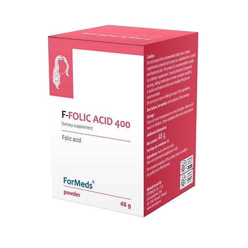 ForMeds F- Folic Acid 400 - 48g powder