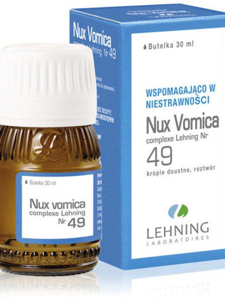 Lehning Nux Vomica Complexe No. 49, 30ml