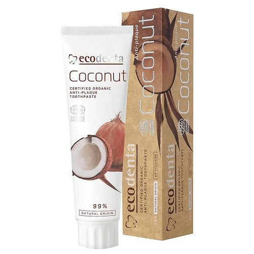 Ecodenta Organic Coconut Anti Plaque Toothpaste 100 ml